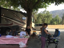 1st night at Sequoia RV Ranch