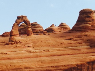 Delicate Arch - zoomed in