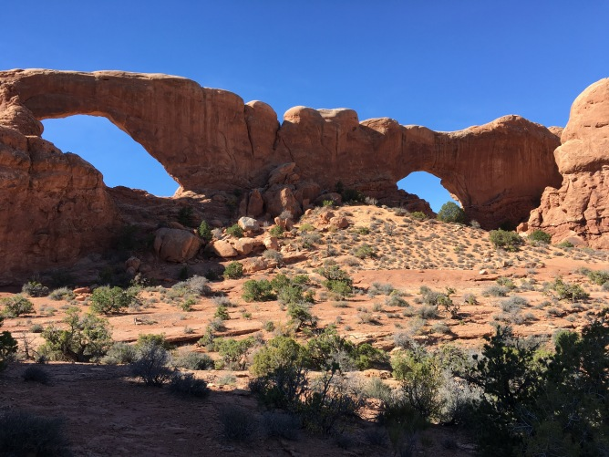 Looking at the front side drom Turret Arch
