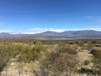 Roosevelt Lake in the distance
